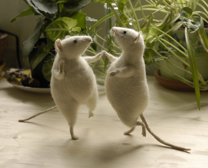 German Culture: The Mice Will Dance on the Table (Phrases)